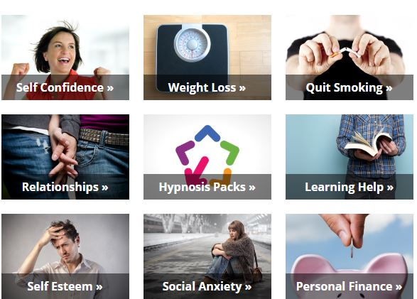Different problems hypnosis can help with